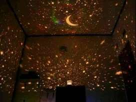 lampu tidur star musik