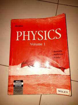 Halliday Resnick Krane Physics IIT JEE reference book