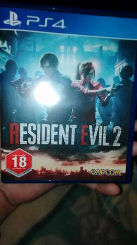 Ps4 Resident evil 2 used available