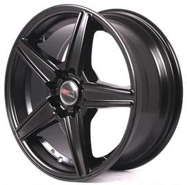 baru velg mobil racing hsr wheel ring 17x75 velg jazz baleno fiesta
