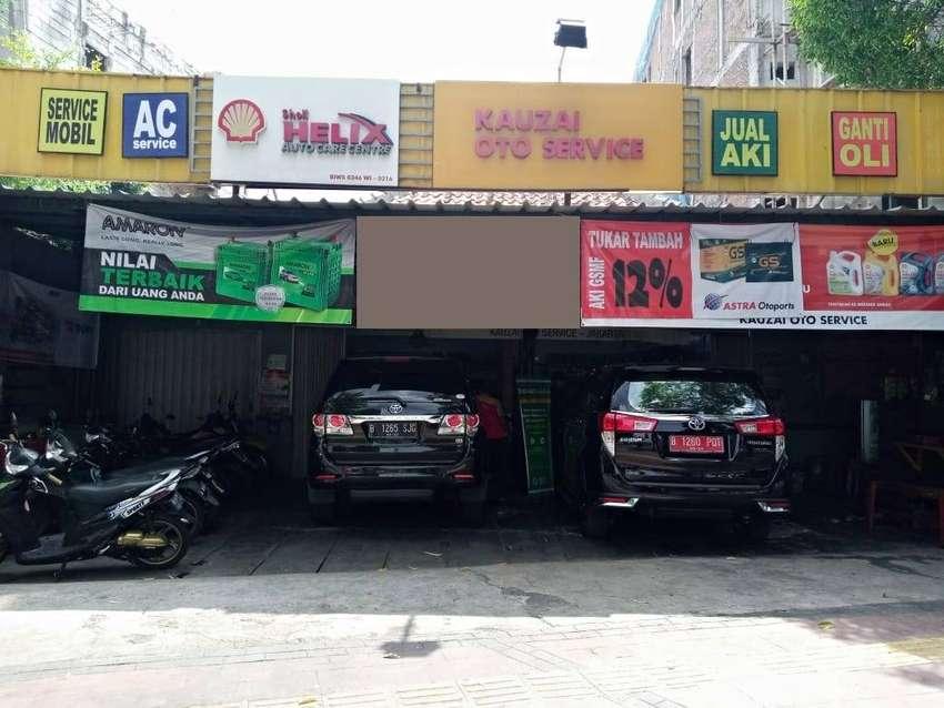Bangunan Ex Bengkel daerah Percetakan Negara 0