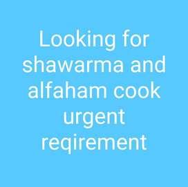 Shawarma and alfaham
