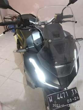 Dikreditkan/trade in. Motor adv 150 cbs black !