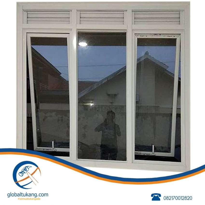 Tukang pemasangan jendela aluminium, pintu, partisi, pintu kamar mandi