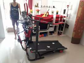 6 in 1 Treadmill manual 6 fungsi new design