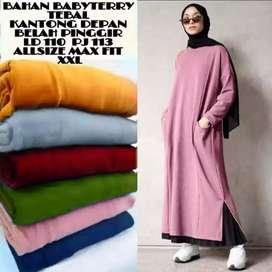 Pakaian wanita Long dress