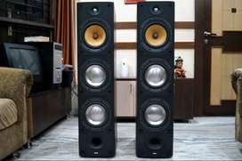 Bowers and Wilkins DM 604 S3 Floor Standing Speaker (B&W)For Amplifier