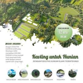 KAVLING CANTIK Istimewa untuk Villa 3,8 KM ke SPBU Pertamina Jelekong