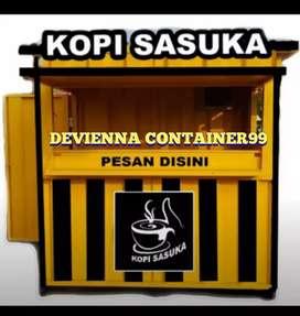 Booth Container kedai kopi kekinian booth bazar booth minuman ,.