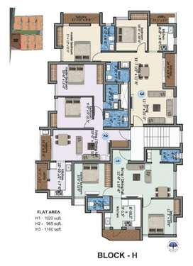 New Flats(2BHK) with Exciting Loan Offers, Sale in Gerugambakkam