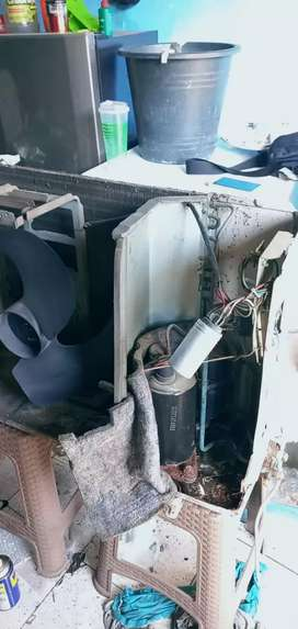 Service/servis kulkas mesin cuci pasang AC surabaya gedangan sidoarjo