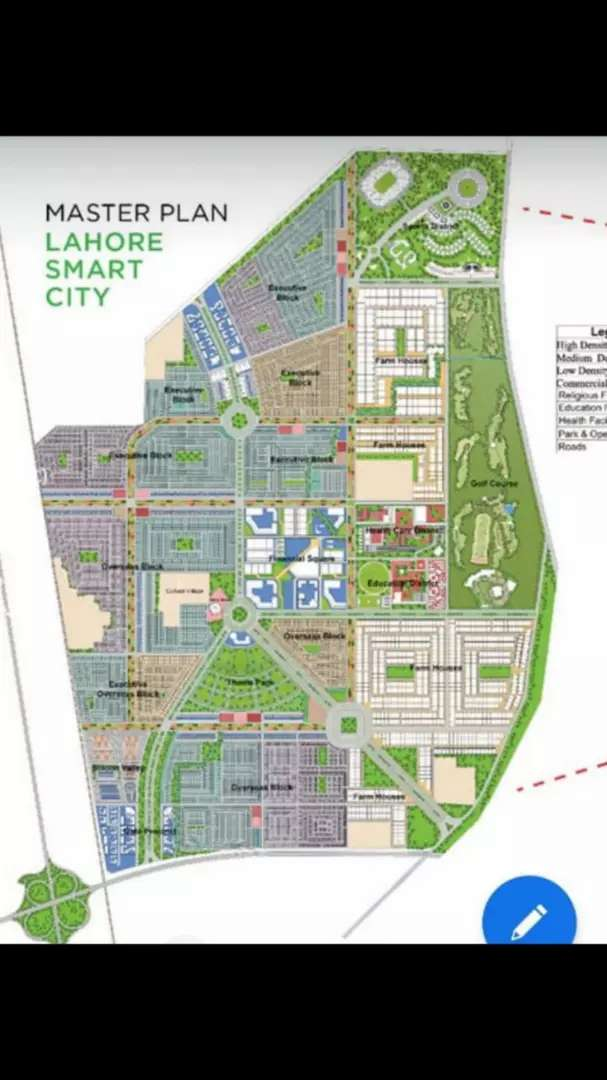 5 marla plot in lahore smart city 0