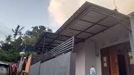 Kanopi atap trimdek atau spandek