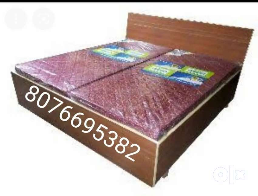 Free delivery new double bed box king size