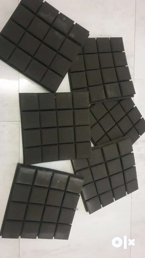 """Sound isolation pads """" Acoustic pads for audio recording """" 0"""