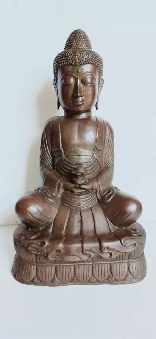Patung Budha tembaga 4,5kg 0