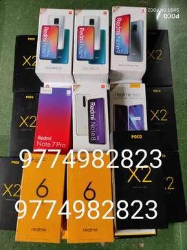 Mi phones realme 6 6pro  Poco x2