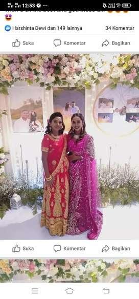 busana pengantin india