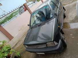 Maruthi 800 well maintained with running fc and insurance