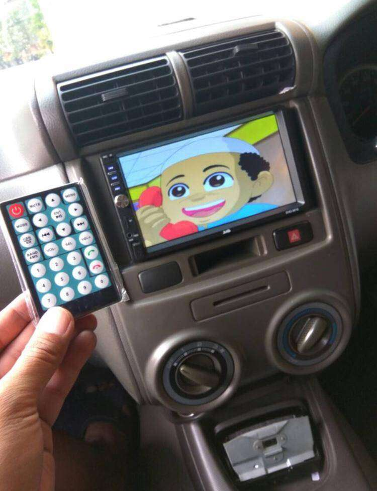 Tercanggih Head Unit HRV support mirror link android iphone 0
