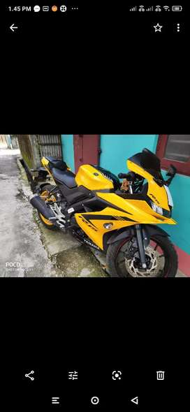 R15 good condition bike