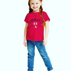 GIRLS T-SHIRT WHOLESALE QTY ONLY