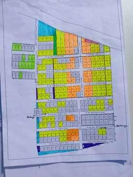 Plots for Sale near Gnyanamani College & Pavi College.