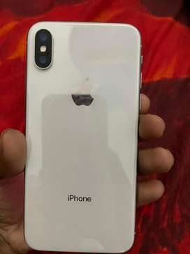 Iphone X with full condition with original charger