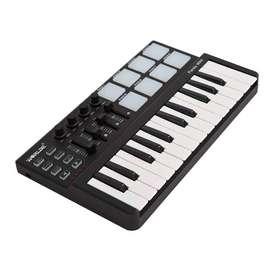 WORLDE Piano Digital 25 Key + DRUM Pad Midi Controller - PD879