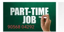 Females candidates apply now for this part time job..