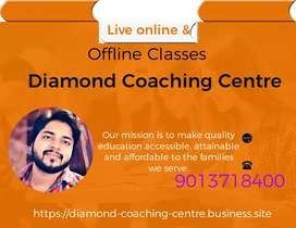 Online live classes & Offline Home Tuition