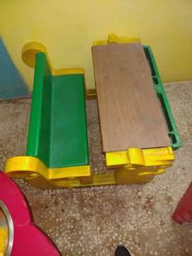 Play School - Study tables and chairs