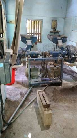 licensed flour mill with working condition with steaming facilities