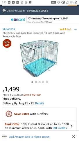 Munchos pet cage
