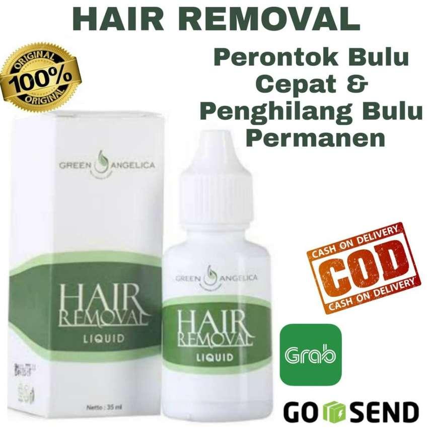 Hair Removal Perontok Bulu Aman Cepat Alami Penghilang Bulu BPOM ASLI 0