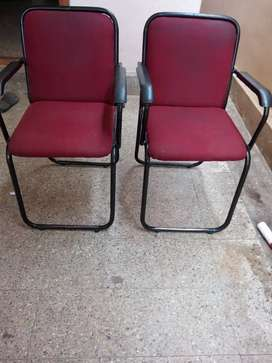 Office cushion chairs( 2 chairs )