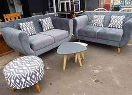Jual Kursi Sofa Retro Jati #2301