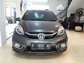 Honda brio RS at 2017 good condition siap pakai