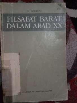DIJUAL BUKU FILSAFAT BARAT DALAM ABAD XX TERBITAN 1981