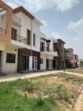 Single story nri property on landran road
