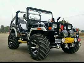 Modified new willy jeep