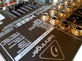 Behringer Mixer (Unused) Xenyx X1222USB