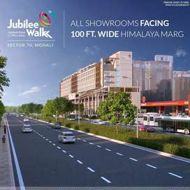 Showrooms - Built up with Double Height on 100 ft  Himalya Marg Mohali