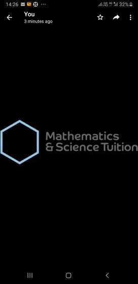 Tution-Maths & Science