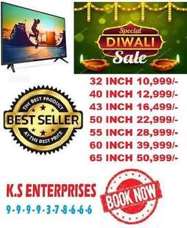 happy diwali mega sale 50% 32 inch full smart full android led tv