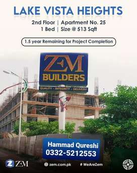 ONE BED APARTMENT FOR SALE IN BAHRIA TOWN PHASE 8