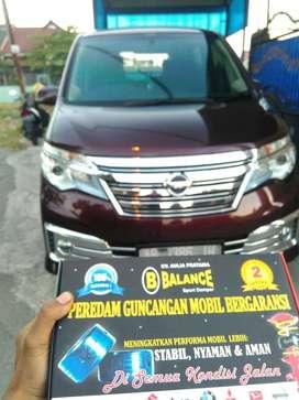Mobil Bebas dari Guncangan Berkat Pasang BALANCE Sport Damper