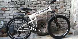 American Hummer Imported Foldable Cycle Full Alluminium Mountain bike