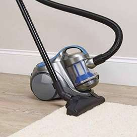 Tesco VCBL17 Bagless Cylinder Vacuum Cleaner (Grey & Blue)
