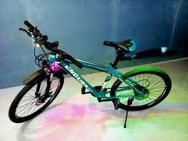 Aluminium bicycle for sale